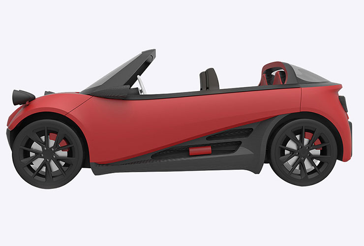 Aplicatii 3D Print in Industria Auto