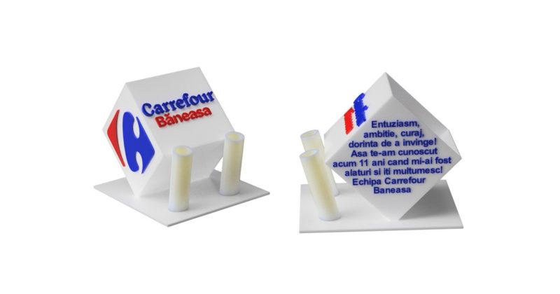 Trofee personalizate Carrefour Baneasa