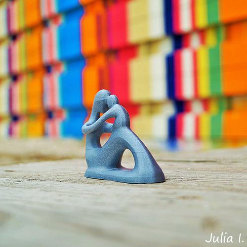 Statuetă Mama și Copilul 3D Print