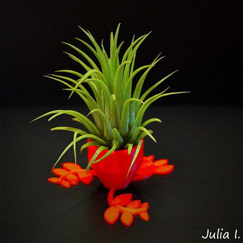 Vas Decorativ Happy Pot Print 3D